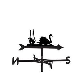 image-Weathervane in Swan Design - Medium (Cottage)