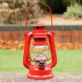 image-Battery Powered LED Lantern Sol 72 Outdoor Colour: Red