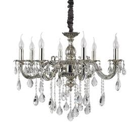 image-Sally 8-Light Candle-Style Chandelier Mercer41