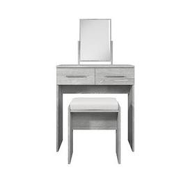 image-Home Essentials - Prague Dressing Table, Stool And Mirror Set