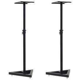 image-Adjustable Height Speaker Stand Symple Stuff