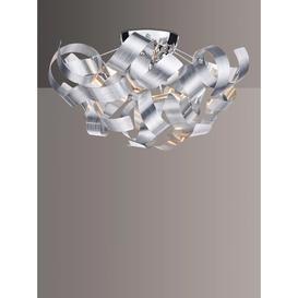 image-Där Rawley Ribbon Flush Ceiling Light, Dia.40cm