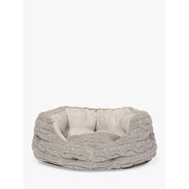image-Danish Design Bobble Dog Bed, Soft Pewter