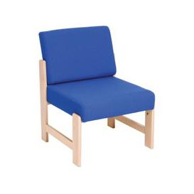 image-Tucson Reception Side Chair, Cobalt