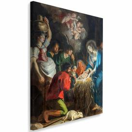 image-'Christmas Church. Paul Antwerp' - Wrapped Canvas Graphic Art Print Astoria Grand Size: 100cm H x 70cm W x 3cm D