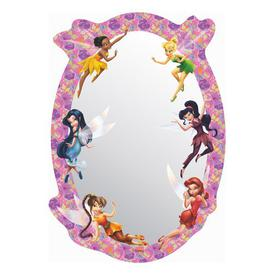 image-Fairies Wall Mounted Mirror Disney Classics