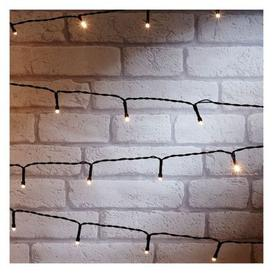 image-100 Outdoor Animated Christmas String Lights Battery 7.5M