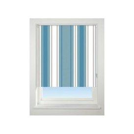 image-Universal 90cm Blue Stripe Blackout Roller Blind