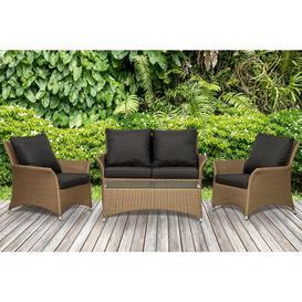 image-Oakridge 4 Seater Rattan Sofa Set Dakota Fields