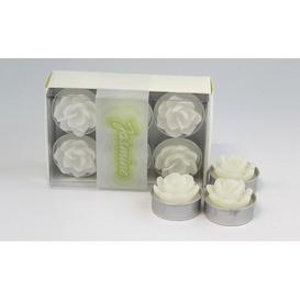 image-Jasmine Scented Novelty Candle Lily Manor Colour: White