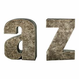 image-2 Piece A Z Bookends Set Symple Stuff
