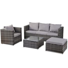 image-Ufomba 5 Seater Rattan Sofa Set Sol 72 Outdoor