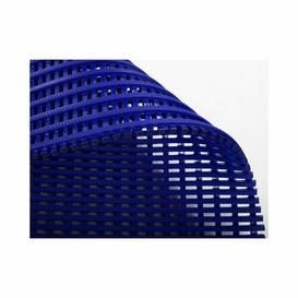 image-Summitville Anti-slip Doormat Borough Wharf Mat Size: 0.5cm H x 90cm W x 600cm L, Colour: Blue