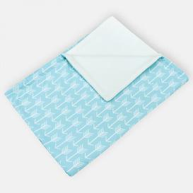 image-White Arrow Baby blanket KraftKids Colour: Blue