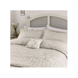 image-Helena Springfield Avery Double Duvet Cover, Fawn