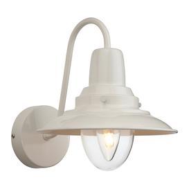 image-Firstlight 8686CR Fisherman 1 Light Wall Lantern in Cream Finish
