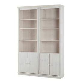 image-Melandra Bookcase Rosalind Wheeler Colour: White, Configuration: Standard