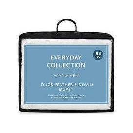 image-Everyday Collection Duck Feather And Down 15 Tog Duvet