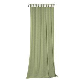 image-Beloit Tab Top Room Darkening Curtain ClassicLiving Size: 132cm H x 145cm W, Colour: Light green