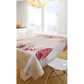 image-Christmas Tablecloth Saint Clair Paris Size: 145cm W x 220cm L