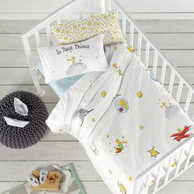 image-Wheatley 150 Thread Count 100% Cotton Fitted Sheet Isabelle & Max Size: Toddler (70 x 140cm)