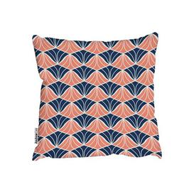 image-Metzger Cotton Scatter Cushion Canora Grey Size: 45 x 45cm