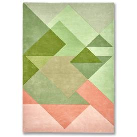 image-Bordeaux Vert Rug - 200 x 300 cm / Green / Wool