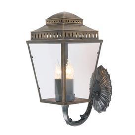 image-Ville 3 Light Outdoor Wall lantern Sol 72 Outdoor Finish: Brass