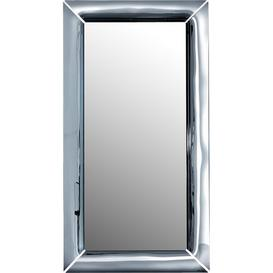image-Skyler Free Standing Mirror Wade Logan Finish: Plissé, Size: 195 cm H x 105 cm W x 13 cm D