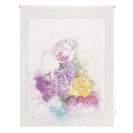 image-Room Bouquet Sheer Roller Blind Ebern Designs Size: 100cm W x 250cm L