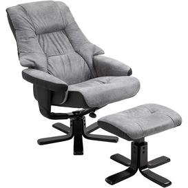 image-Brading Manual Swivel Recliner with Footstool Brayden Studio