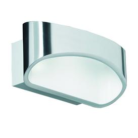 image-Cressida 5W integrated LED up & down wall light in chrome - 90409.