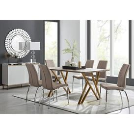 image-Eubanks Dining Set with 6 Chairs