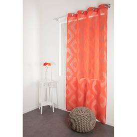 image-Midcre Eyelet Semi Sheer Curtain Brayden Studio
