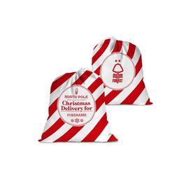 image-Personalised Nottingham Forest FC Christmas Delivery Santa Sack