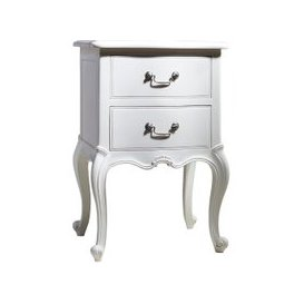 image-Opera Bedside Table in White