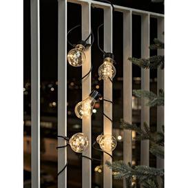 image-50 Amber White LED Beer Garden Chain Fairy Light Konstsmide
