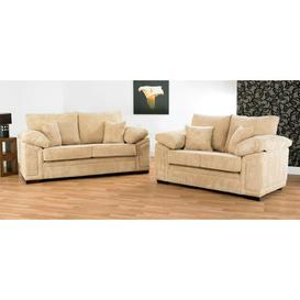 image-Victoria 2 Piece Sofa Set Winchester Leather Ltd Upholstery Colour: Conway Sand