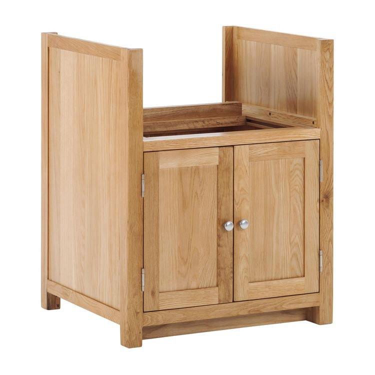image-Handmade Oak Kitchens Furniture Sink Adjustable Cabinet