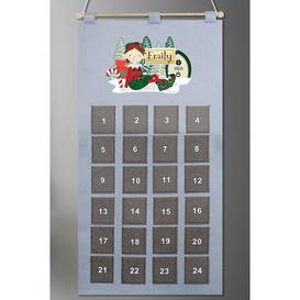 image-Personalised Elf Advent Calendar