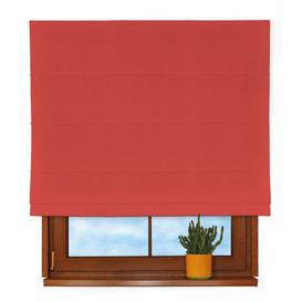 image-Loneta Roman Blind Dekoria Size: 170 cm L x 80 cm W, Colour: Red