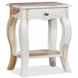image-Gelinas 1 Drawer Bedside Table Fleur De Lis Living