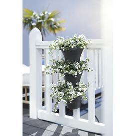 image-Corsica Plastic Balcony Planter ELHO Colour: Anthracite