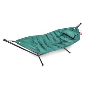 image-Headdemock Deluxe Hammock - with cushion and protection case by Fatboy Turquoise