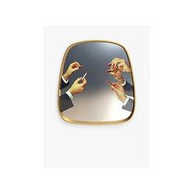 image-Seletti Lipstick Mirror, 54 x 59cm, Multi