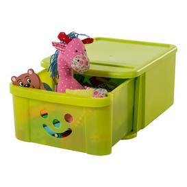 image-Smiley Toy Box IRIS Finish: Green