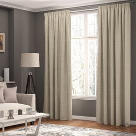 image-Shillings Blackout Thermal Curtains ClassicLiving Colour: Beige, Panel Size: 168 W x 183 D cm
