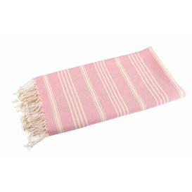 image-Rosalyn Beach Towel House of Hampton Colour: Candy Pink
