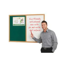image-Eco Friendly Dual Noticeboard, Green