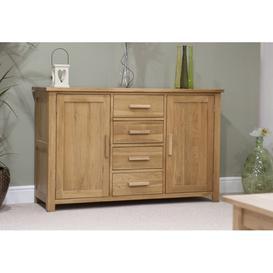 image-Opus Solid Oak Furniture Large Sideboard - PRE-ORDER